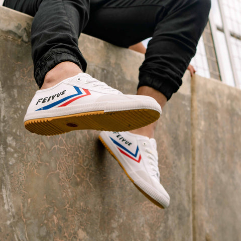 feiyue mans white 1920 shoe