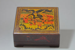 Antique Lacquered Box, Sweetmeat Offering