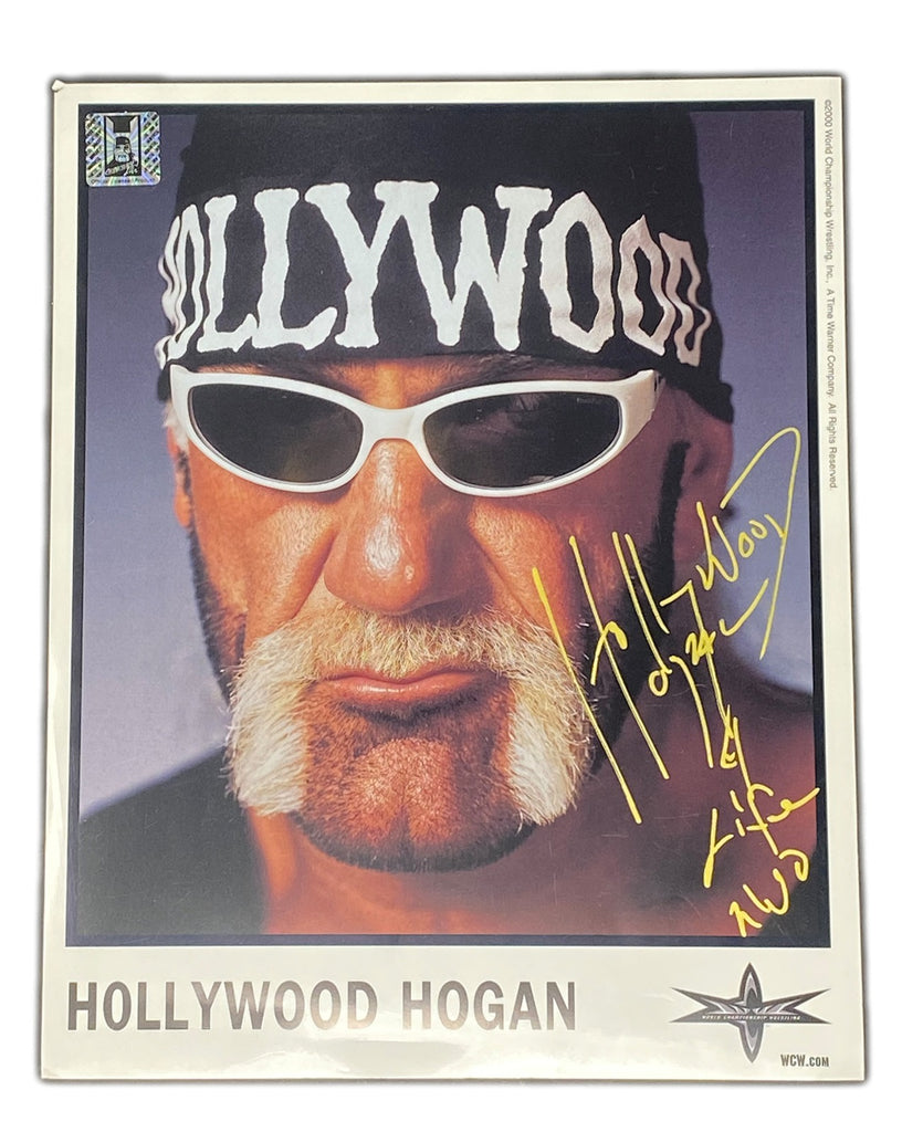 WCW Hollywood Hulk Hogan 8x10 original