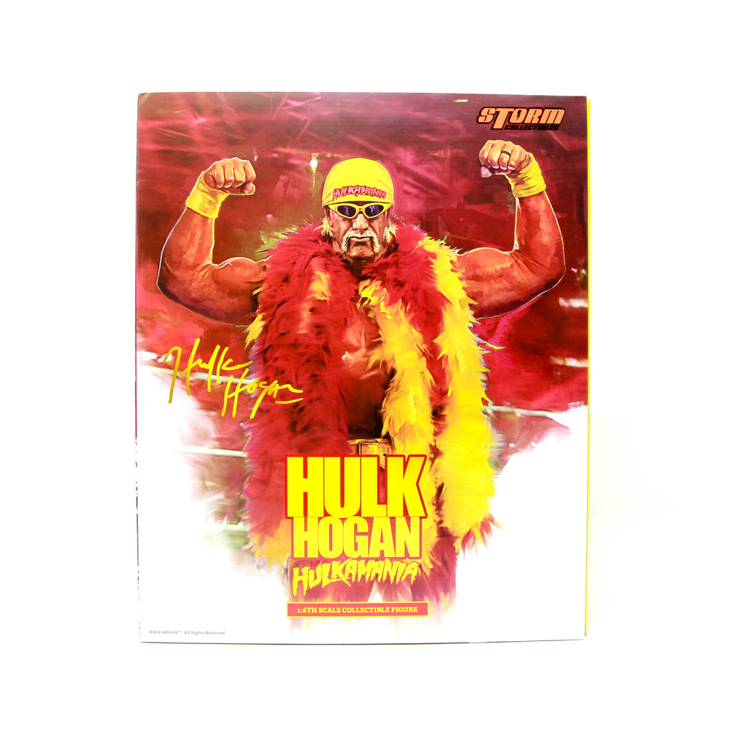 Hulk Hogan Signed Storm Collectibles Action Figure