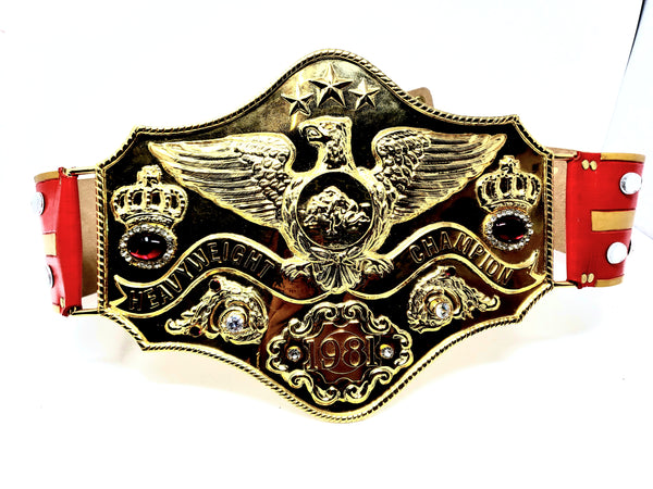 Signed Deluxe Thunderlips Replica Belt