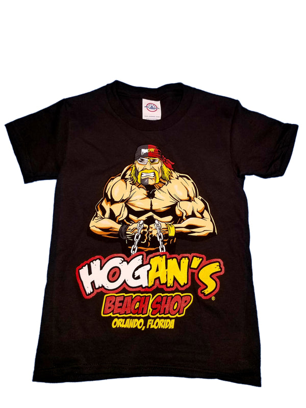Hulk Hogan Split Face Youth Shirt