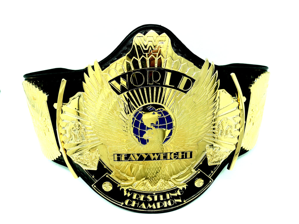 Signed WWF Winged Eagle Belt