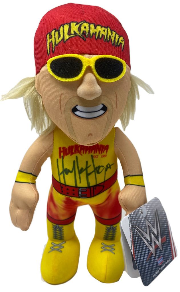 WWE Hulk Hogan Doll signed