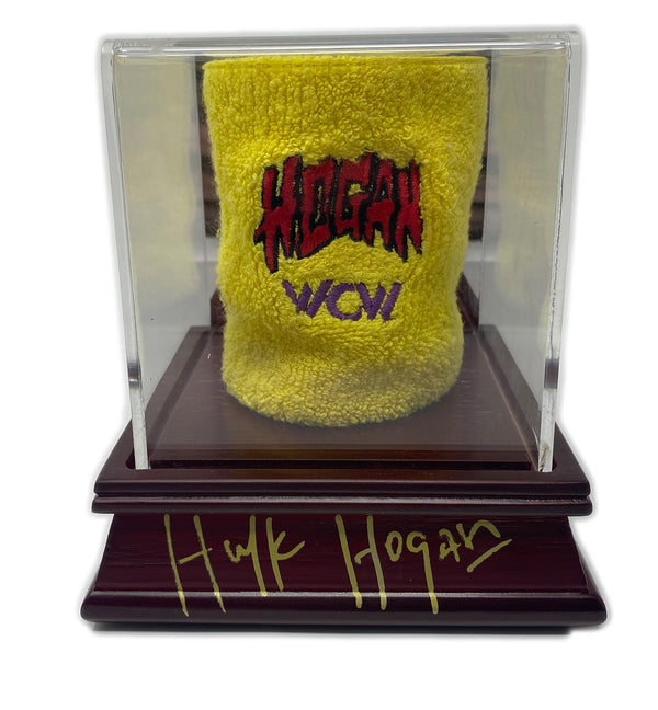 "WcW ring worn ""Super Rare"" Hulk hogan wristband"