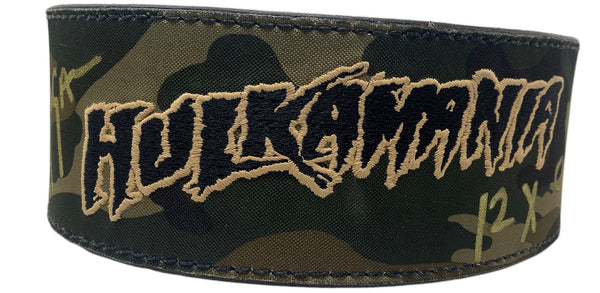 Camo Hulkamania Weightbelt Signed (M)