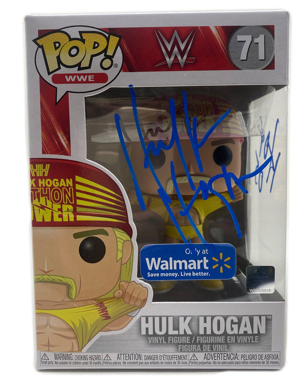 Python Power Funko Pop Signed in Blue