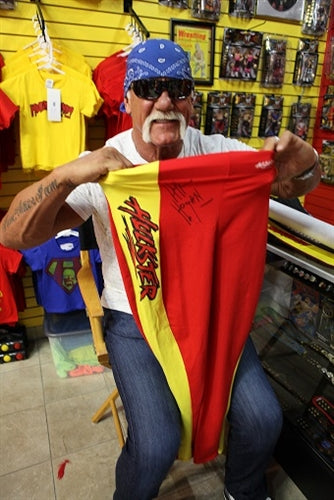 Hulk Hogan Signed WCW Hulkster Ring Worn Long Tights