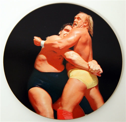 hulk hogan vs Andre the giant coster