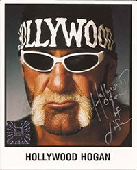 Hulk Hogan Signed Hollywood Hogan Photo