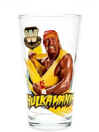 Hulk Hogan Toon 16oz Pint Glass