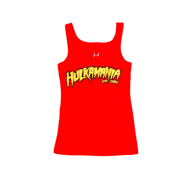 Hulkamania Tank Top Womens front