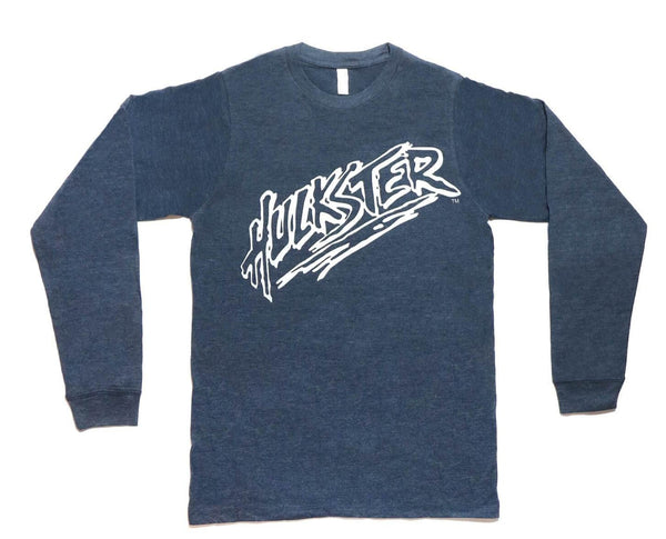 Hulkster Navy Blue Long Sleeve T-Shirt