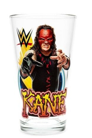 Kane WWE Pint Glass