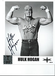 Hulk Hogan Signed Original Hulkster Photo