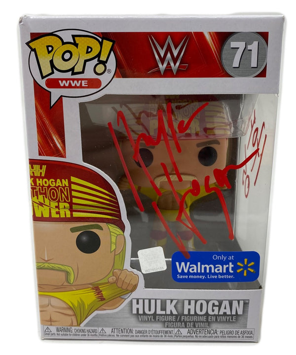 Python Power Funko Pop Signed in Red!!