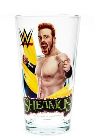 Sheamus WWE Pint Glass