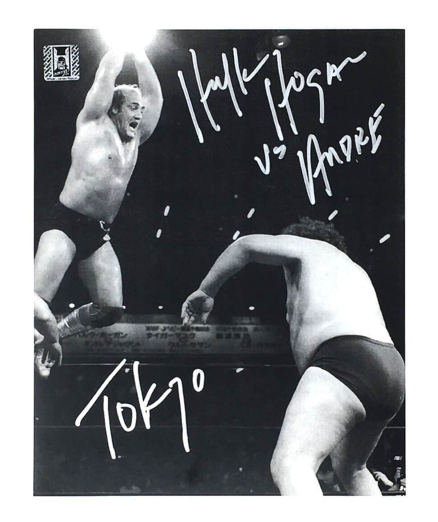 Hulk Hogan Signed Hogan IWGP 8x10