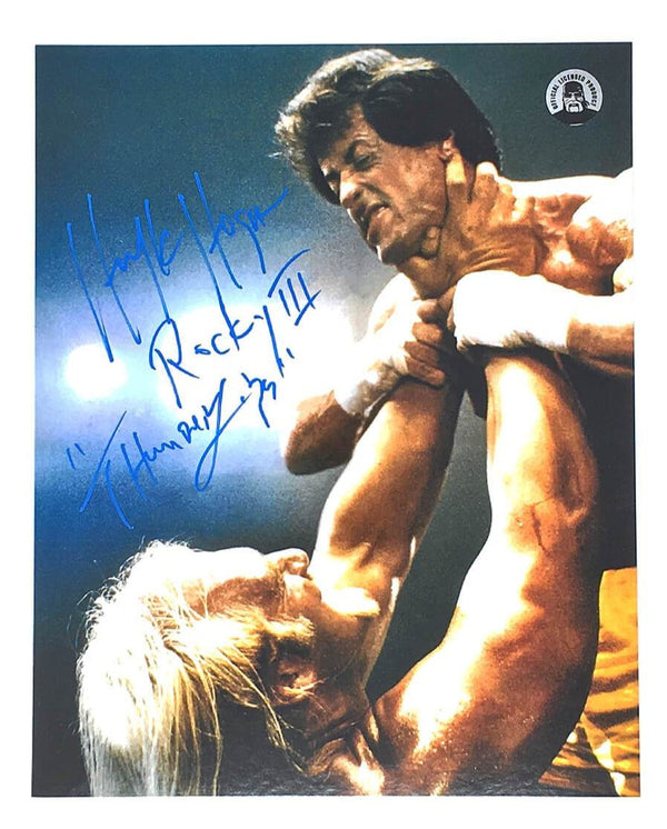 Hogan Stallone Rocky III Poster