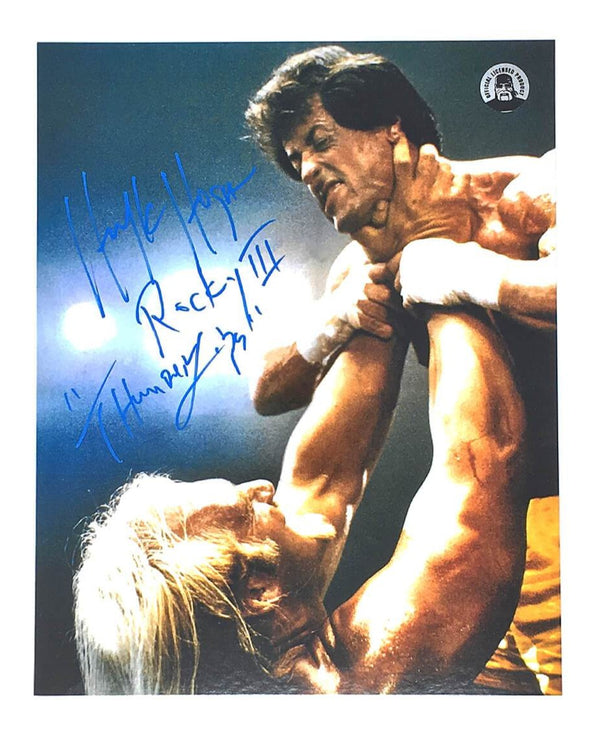 Hogan Stallone Rocky III Photo