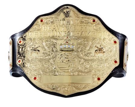 hulk hogan wwe heavyweight championship replica belt