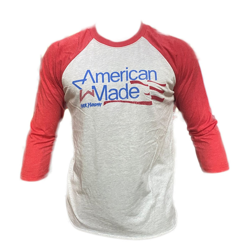 American made Half sleeve red