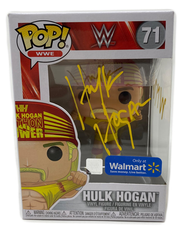 Python Power Funko Pop Signed in Yellow!!