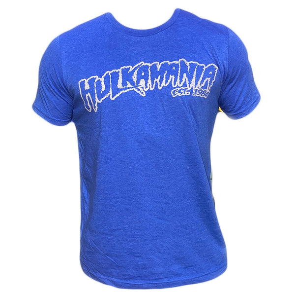 Mens Hulkamania Blue reflective t