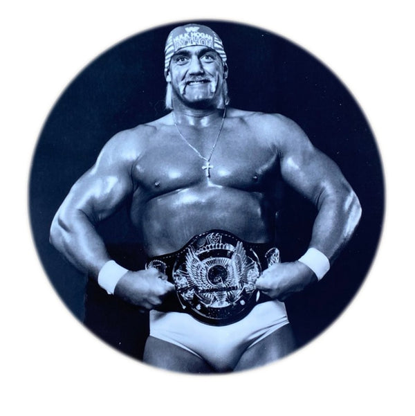 Hulk Hogan & Winged Eagle Belt Coaster Pack