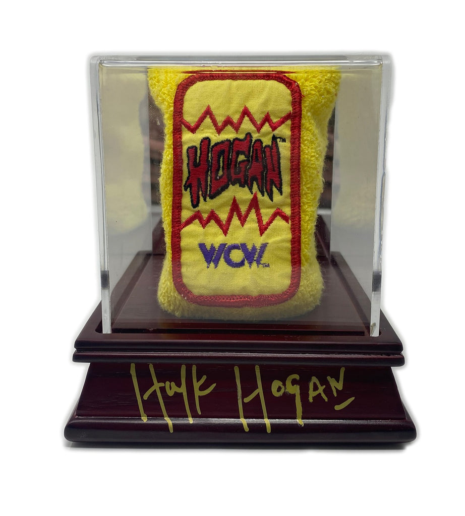 "Hulk hogans Ring worn signed wristband ""Super rare""1 of 1"