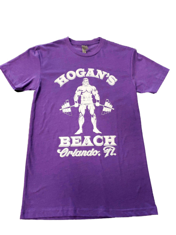 Hulk Gym Purple Tee