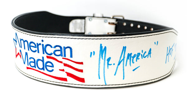Hulk Hogan Signed American Made Weight Belt