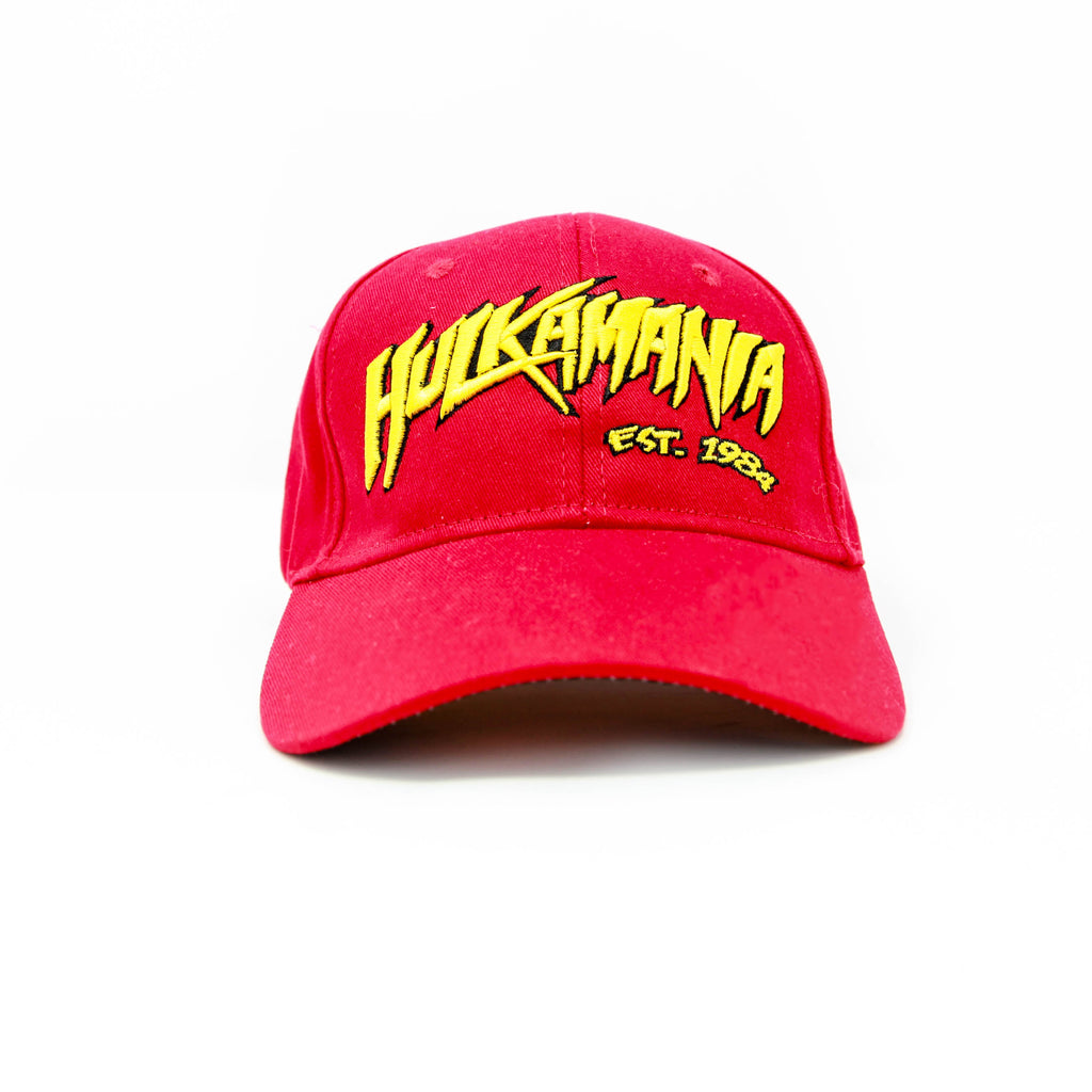 Hulkamania FlexFit Baseball Hat front