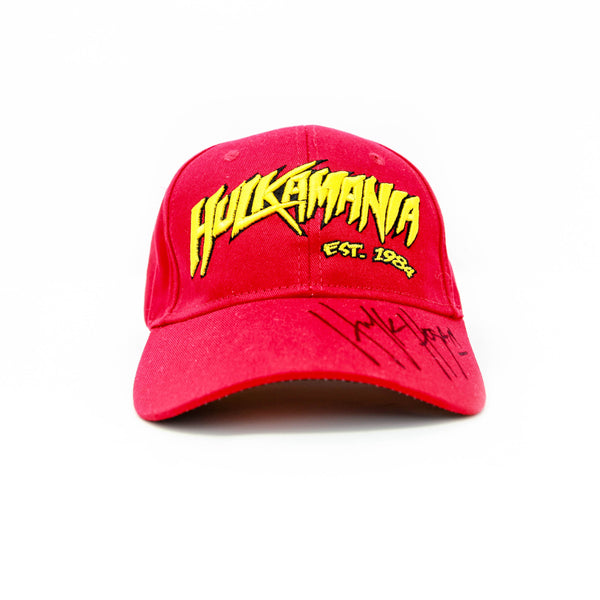 Hulk Hogan Signed Hulkamania FlexFit Baseball Hat