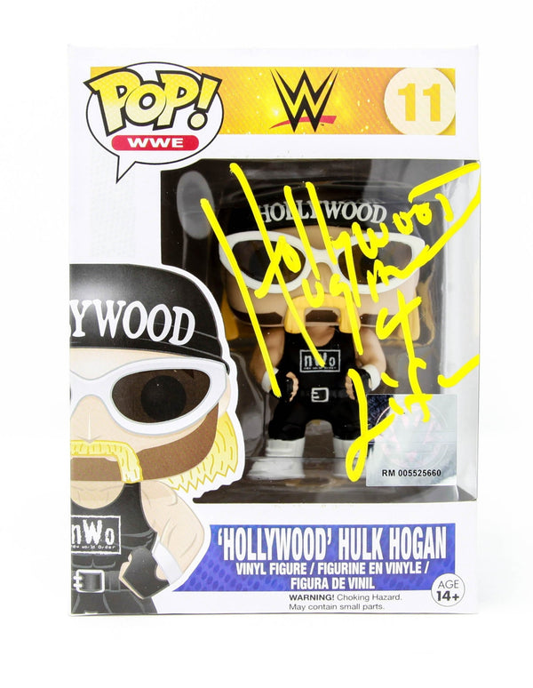 Hulk Hogan Signed Hollywood Hogan Funko Pop