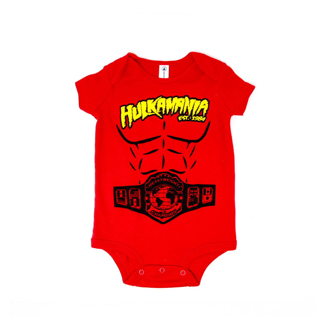 Hulkamania Heavyweight Champion Bodysuit front
