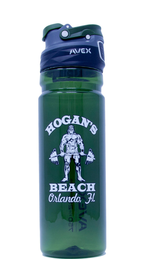 Green 25oz Hogans Beach Shop Water Bottle