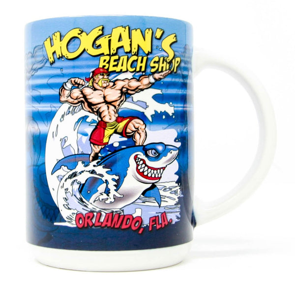 Hogans Beach Shop Shark Mug