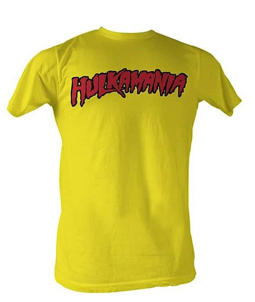 Yellow Hulkamania Shirt