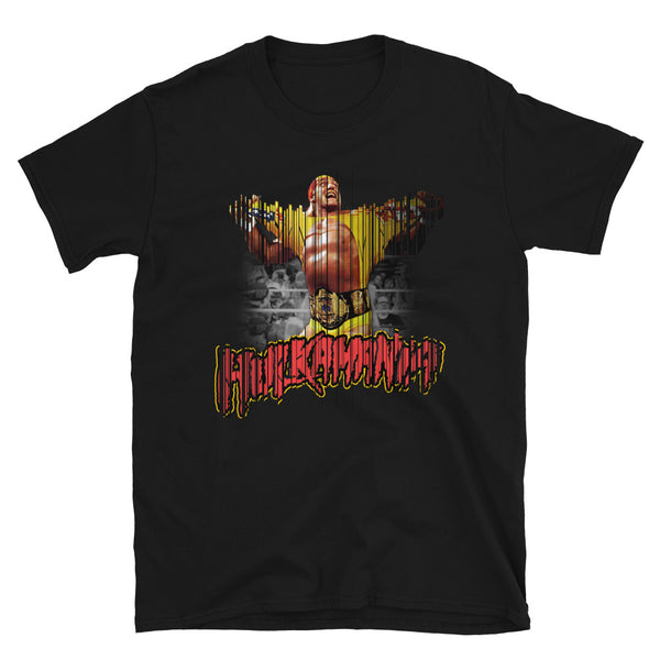 Hulkamania Slice Short-Sleeve Unisex T-Shirt