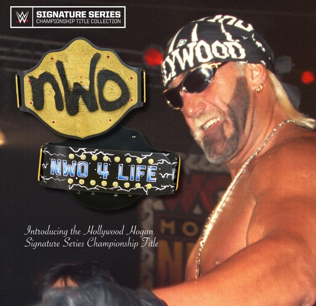 "Hollywood Hogan ""Signature Series"" Championship Replica Title"