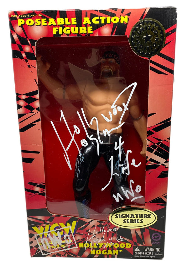 Hulk Hogan Signed Hollywood Hogan Action Figure