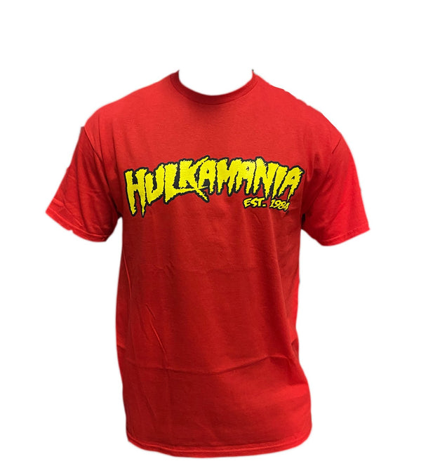 Red Hulkamania Shirt