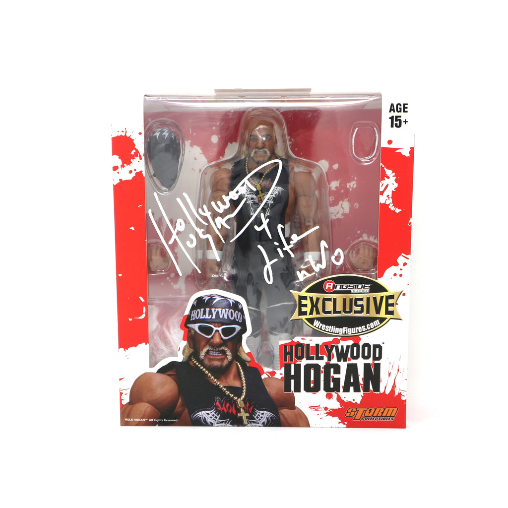 Hulk Hogan Signed Tribal Hollywood Hogan Ringside Collectibles Action Figure