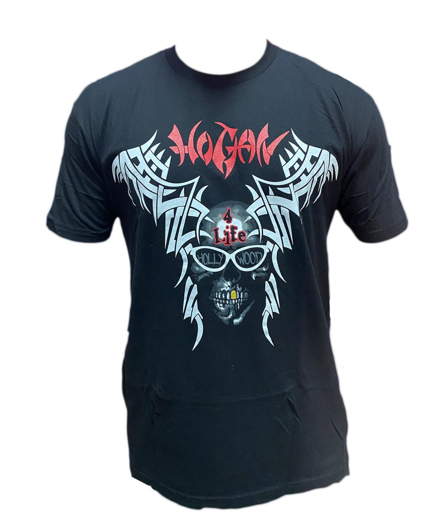 Tribal Skull Hogan 4 Life T-Shirt