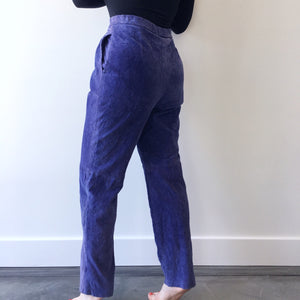 Blueberry Suede Pant