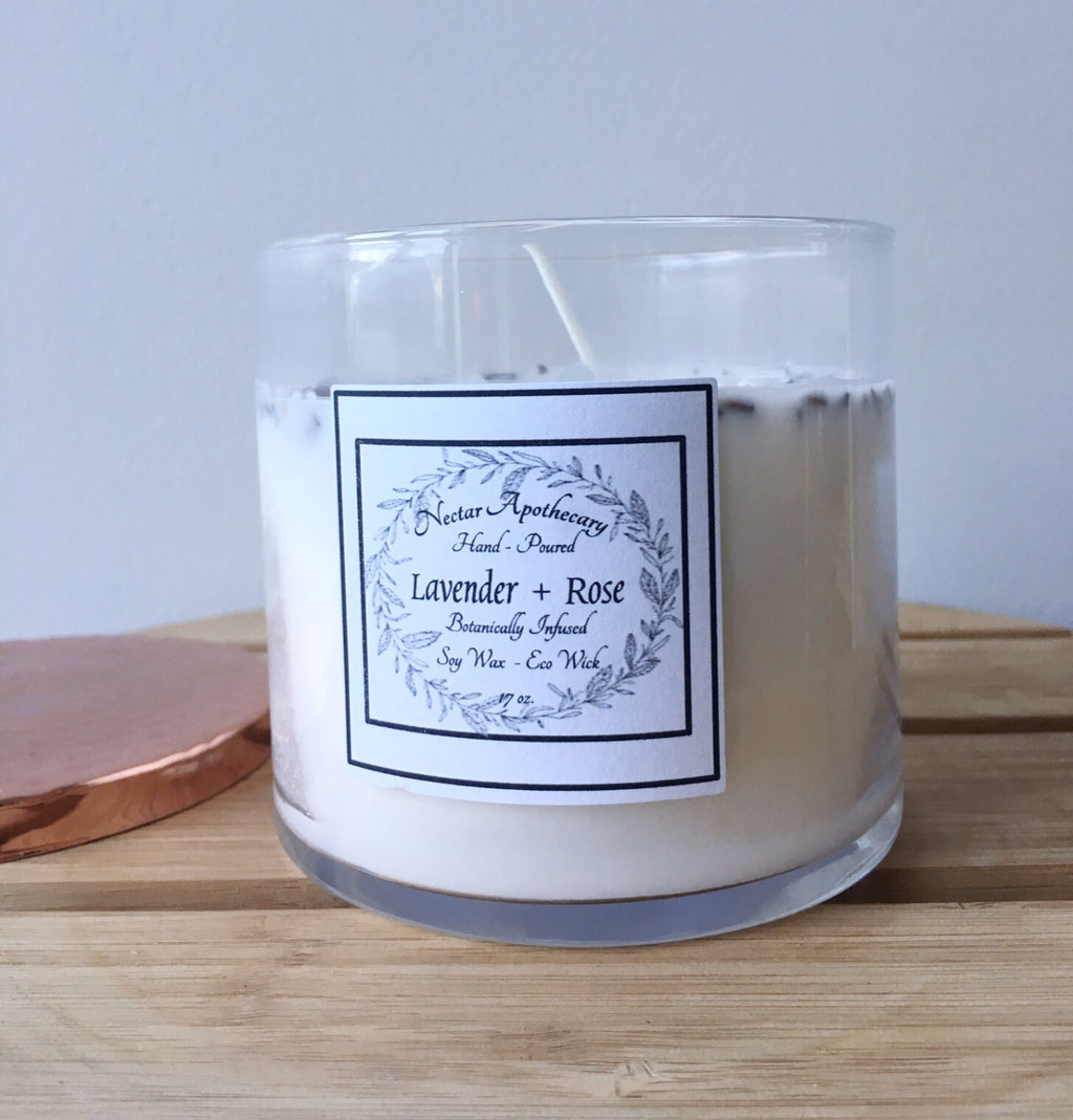 Nectar Apothecary Lavender Rose Candle