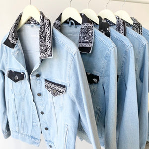 Unemployed Denim Bandana Jacket