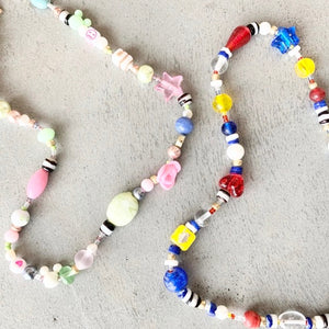 Color Pop Beaded Necklaces