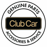 Club Car Precedent Rear Flip Seat Frame Cushions - Black